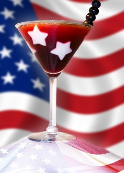 Star Studded Fourth of July Drinks or any Patriotic Holiday!