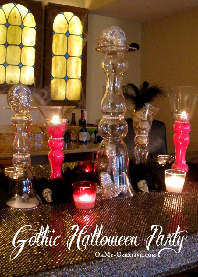 Gothic Halloween Party - OhMy-Creative.com