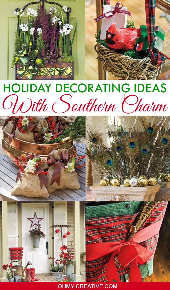Holiday Decorating Ideas With Southern Charm