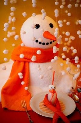 Snowman Party Theme