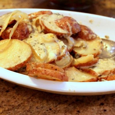 Easy Gorgonzola Potatoes
