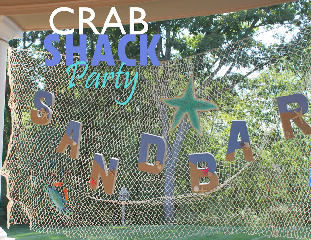 Crab Shack Party Theme | OHMY-CREATIVE.COM