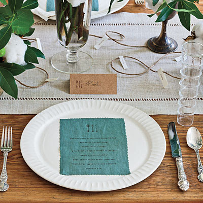 Modern Simplicity – A Thanksgiving Table