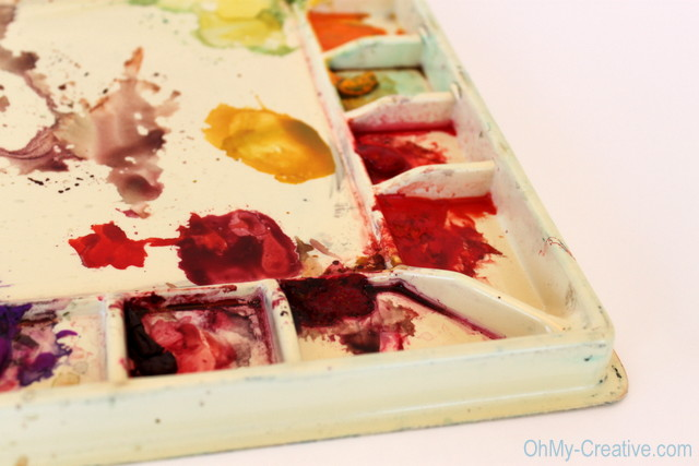 Watercolor Paint Tray