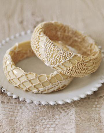 Doily Bracelets
