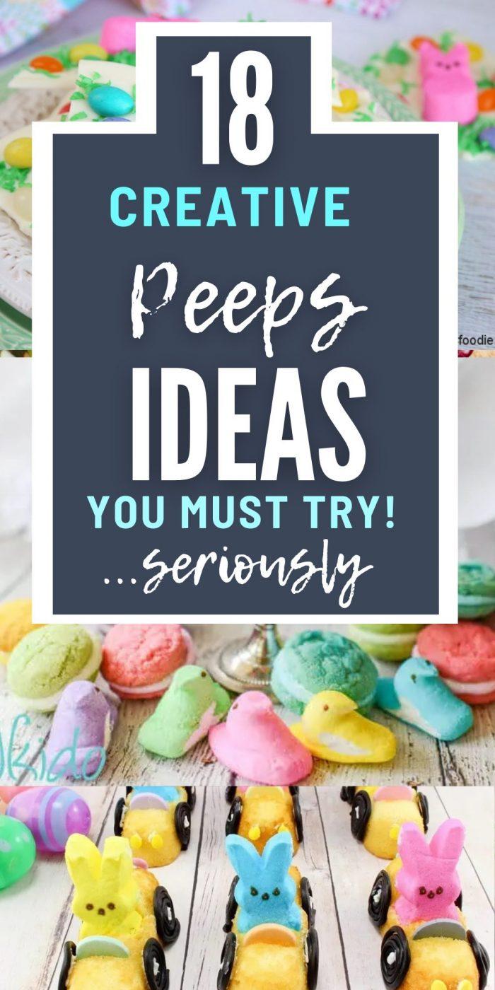 Easter peeps recipe ideas