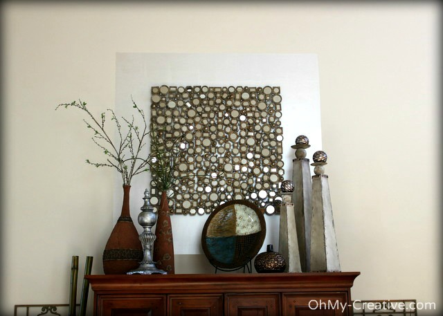 Creating Visual Balance For a Large Interior Wall Space