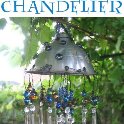 DIY Chandeliers and Outdoor Lighting