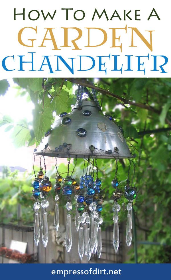 How to make a Garden Chandelier