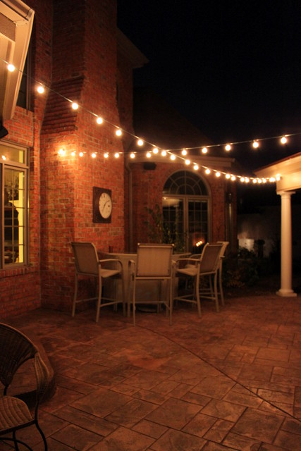 Globe String Patio Lighting