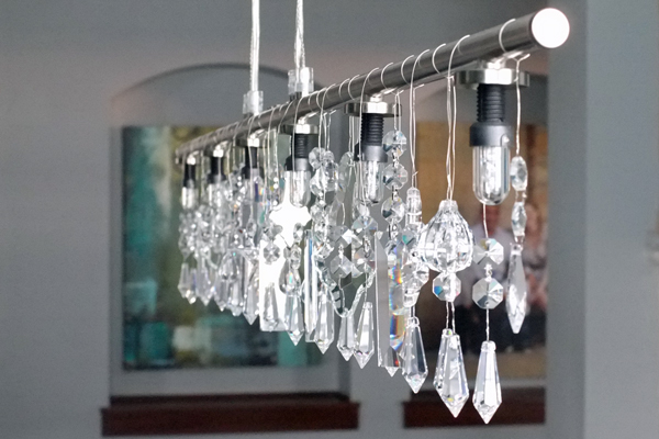 Diy chandeliers and outdoor lighting oh my creative mozeypictures Gallery