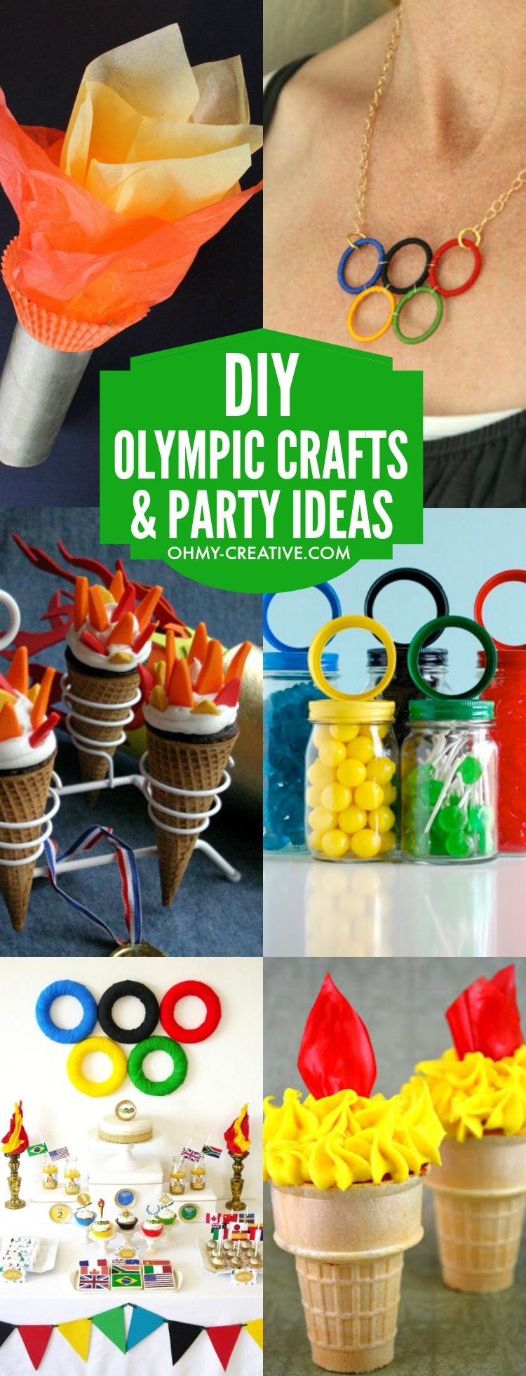 winter party craft ideas diy olympic crafts and ideas oh my creative 5738