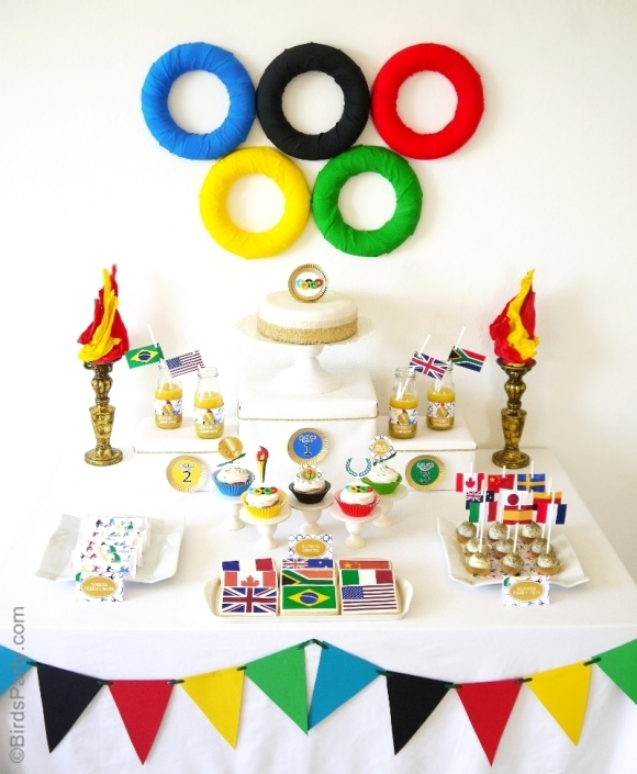 Olympic's Party Printables