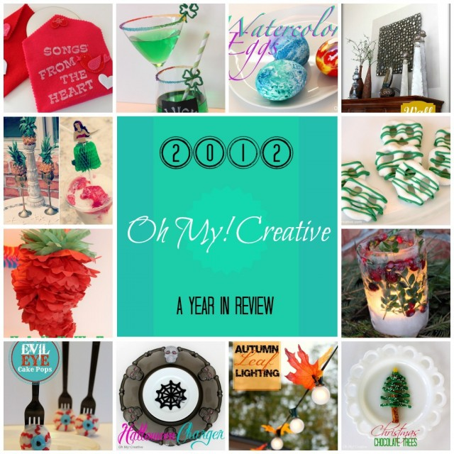 Oh My! Creative Projects {A Year In Review}