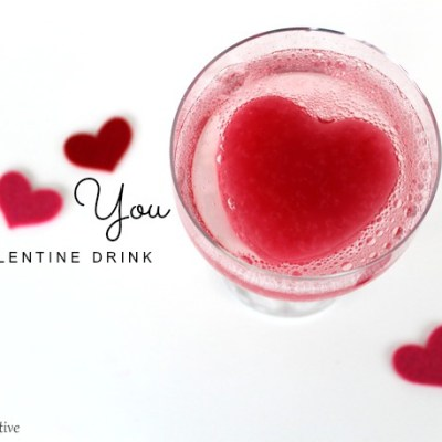 I Heart You Valentine's Day Drink