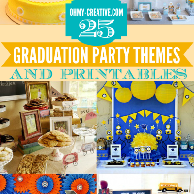 25+ Graduation Party Themes, Ideas And Printables