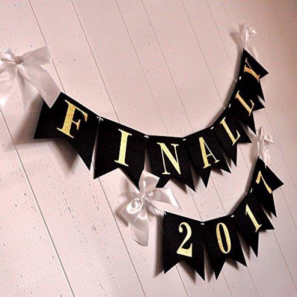 Handmade graduation party banner