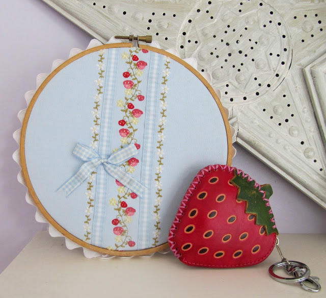 Strawberry craft project