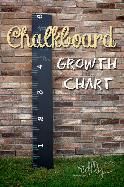 Chalk Board Growth Chart