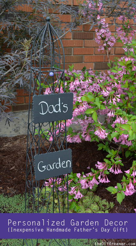 DIY Father's Day Garden Signs