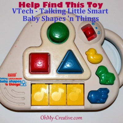 Help Me Find This VTech Talking Little Smart Baby Shapes 'n Things Toy For My Son