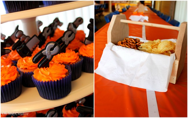 Construction Birthday Party Theme - OhMy-Creative.com