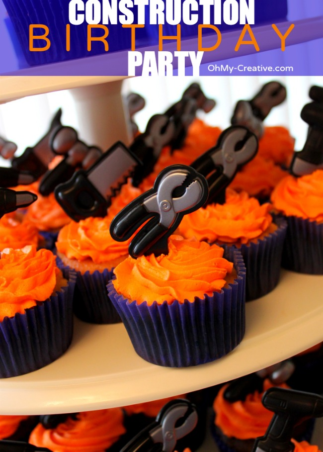 Tool Cupcake Toppers