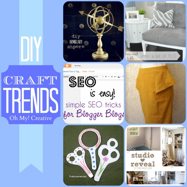 DIY Craft Trends - Oh My! Creative