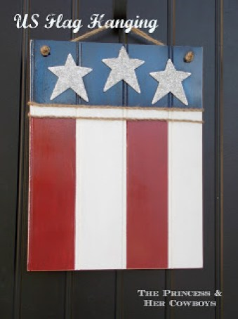 U.S. Flag Hanging