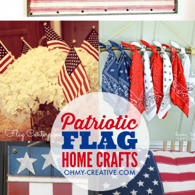 DIY Flag Home Crafts