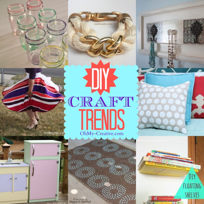 A collection of trending DIY crafts and home projects to make - OhMy-Creative.com