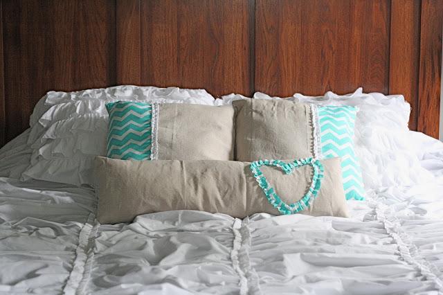 How to make a ruffle bedspread