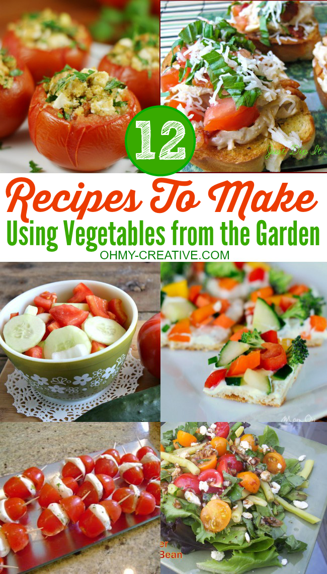 12 Vegetables To Plant In August Zone 9: 12 Recipes To Make Using Vegetables From The Garden