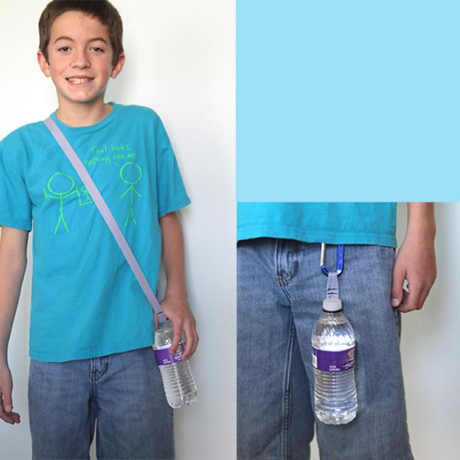 water-bottle-holder-o-ring-DIY-easy-