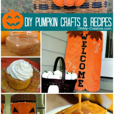 DIY Pumpkin Crafts & Recipes