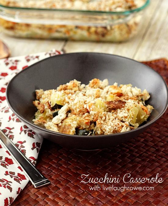 The best Zucchini Casserole