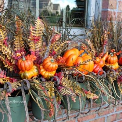 Create A Fall Window Box