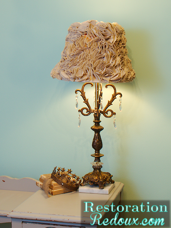 Goodwill Lamp Makeover