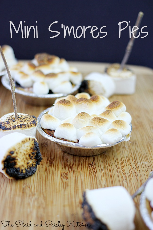 Mini S'mores Pies Recipe