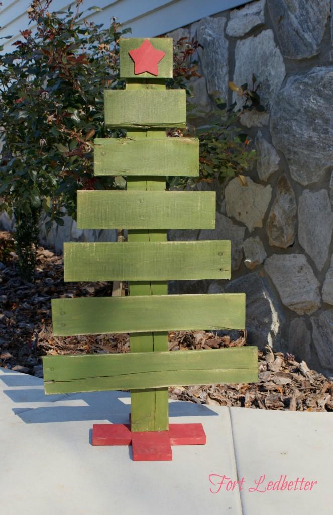 Wood Craft Christmas Tree