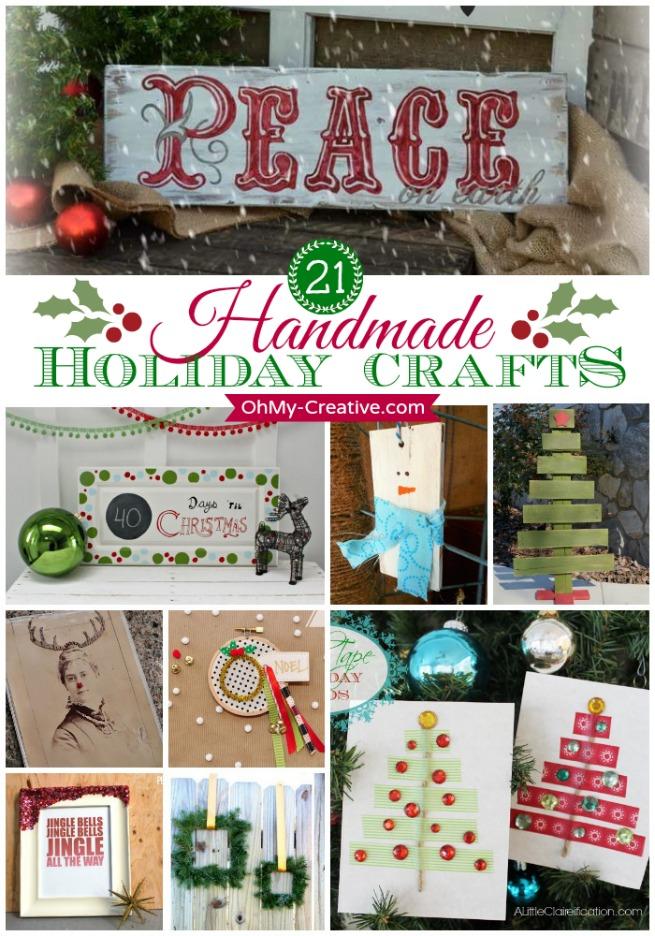 21 Handmade Holiday Crafts