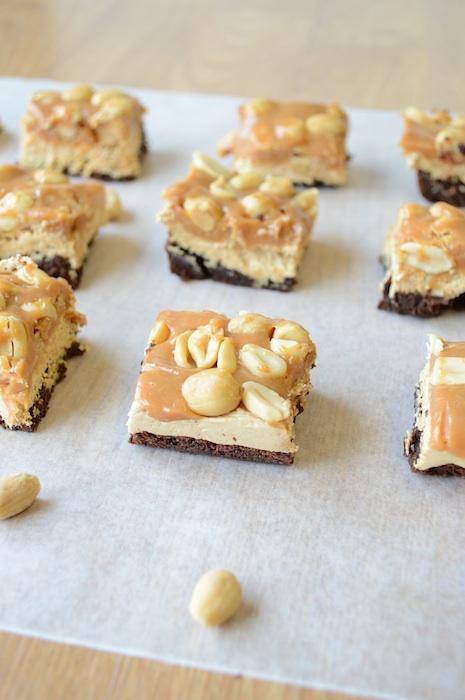 Brownie-Snickers-Bites