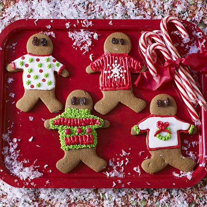 Ugly Christmas Sweater Cookie gingerbread-cookies