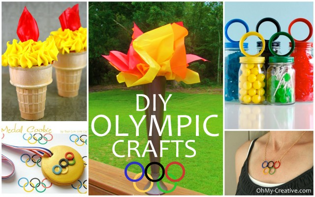DIY Olympic Crafts and Party Ideas | OHMY-CREATIVE.COM