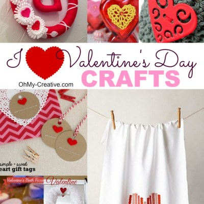 I Heart Valentine's Day Crafts