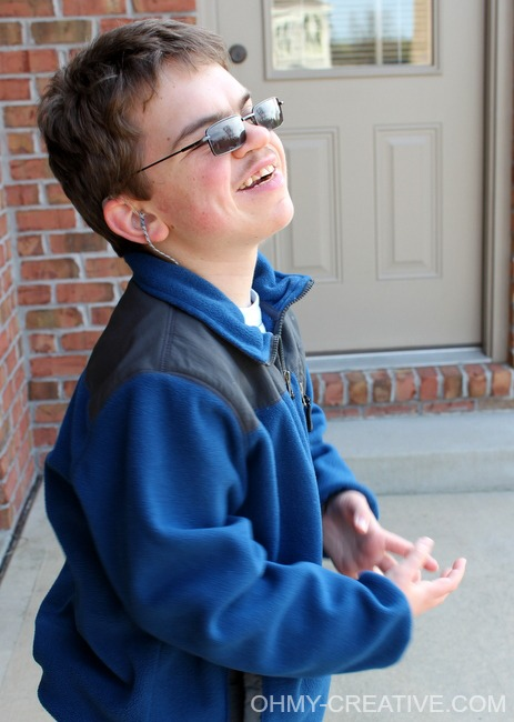 Celebrating My Son's life with multiple disabilities including autism and Baraitser-Winter Syndrome.