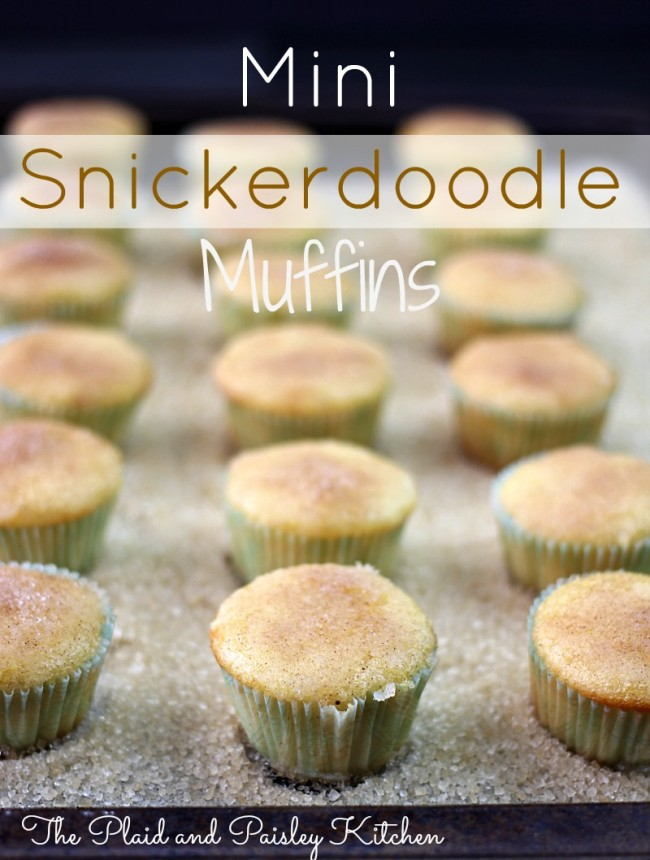 These delicious Mini Snickerdoodle Muffins are quite possibly the easiest and tastiest little bite that you will ever pop in your mouth! Just like snickerdoodle cookies...heavenly!   OHMY-CREATIVE.COM