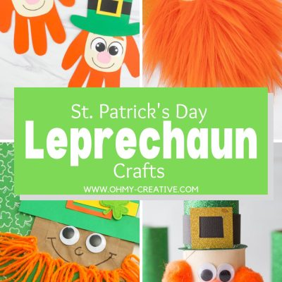St. Patrick's Day Leprechaun Crafts