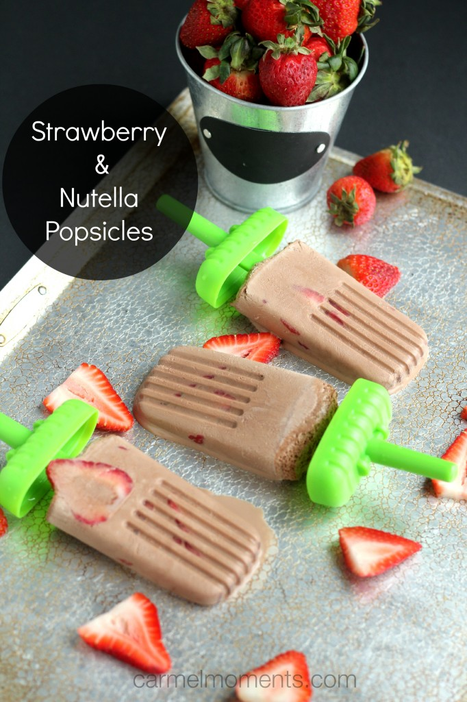 Stawberry-Nutella-Popsicles