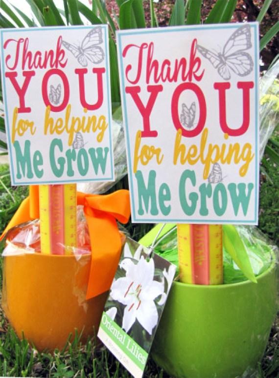 Thank You For Helping Me Grow Printable